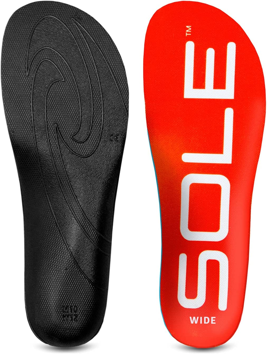 SOLE Active Wide Medium Insole Women's Tampa Mall 13.5-14 11.5-12 Special price Men's