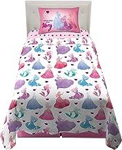Franco NA0708 Kids Bedding Super Soft Sheet Set, 3 Piece Twin Size, Disney Princess