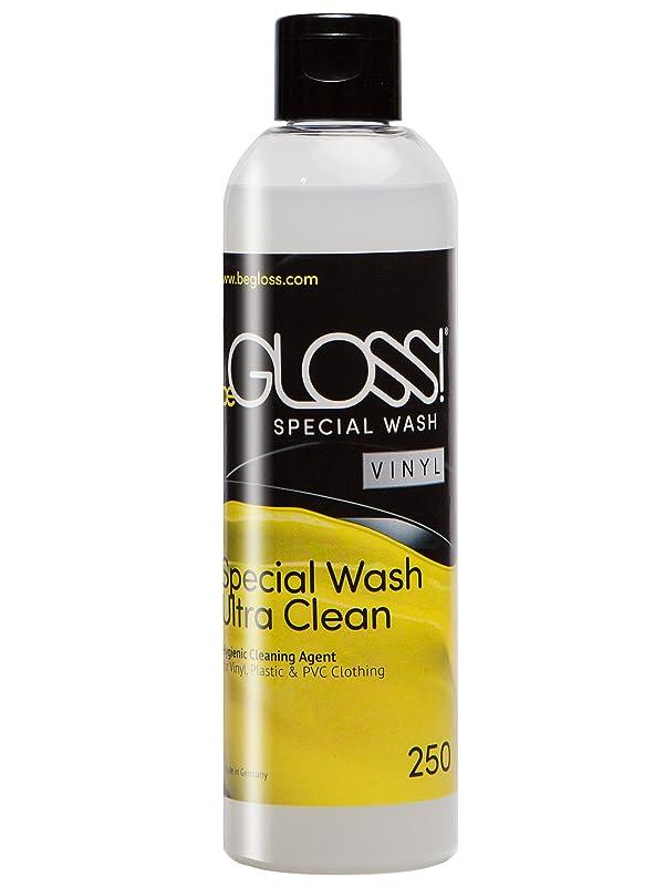 堤防ポルノ退化するbeGLOSS Special Wash Vinyl (PVC) 250ml - ビーグロス スペシャル?ウォッシュ ビニール 250ml (PVC エナメル ポリ塩化ビニル 製品専用保護洗剤) PVCバッグ エナメルバック シューズ 等の オシャレ にも