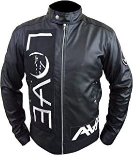 angels and airwaves leather jacket love