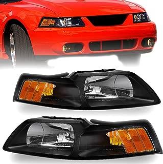 2001 ford mustang headlight lens