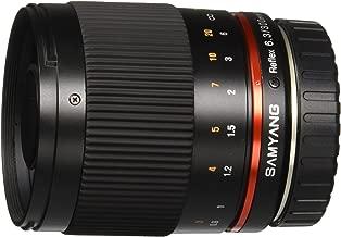 Samyang SY300M-E-BK 300mm F6.3 Mirror Lens for Sony NEX Mirrorless Interchangeable Lens Cameras - E-Mount