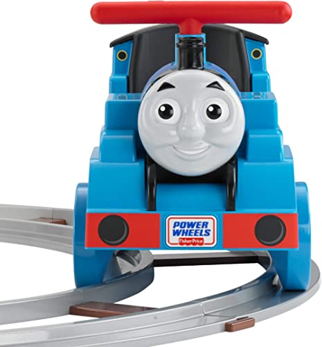 Power Wheels Thomas and Friends Thomas Train with Track [Amazon Exclusive]