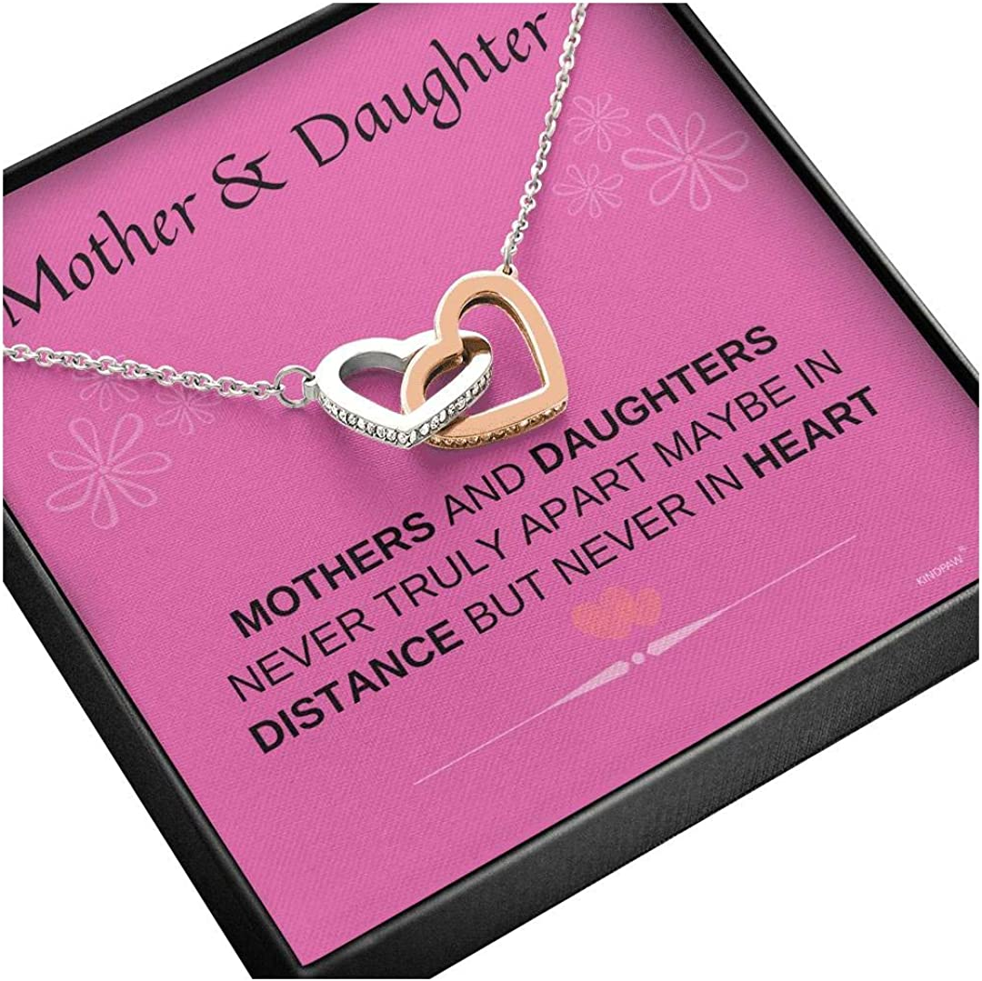KINDPAW Mother Daughter Elegant Necklace Max 43% OFF - Never Truly Birthday P Apart