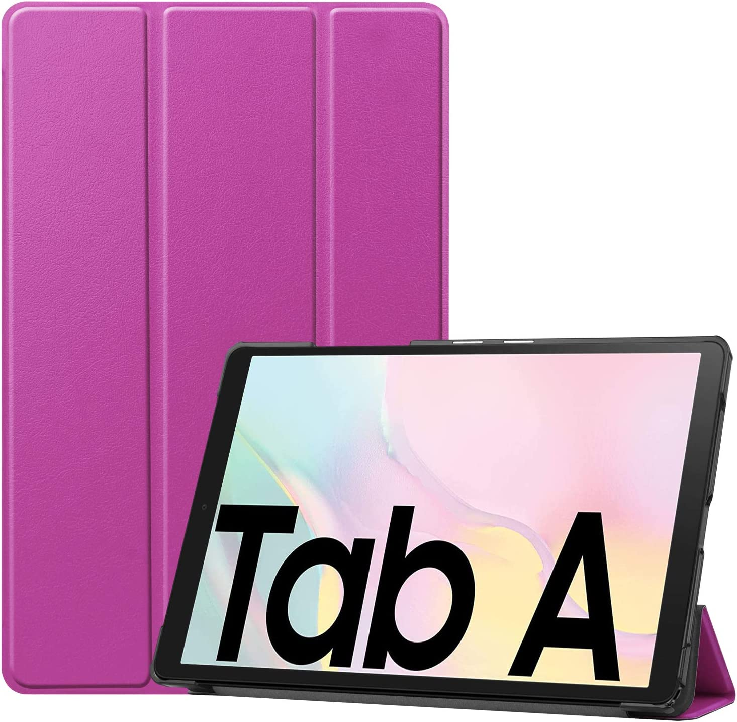 GWYLH At the price Vegan Leather Case for Galaxy Light A7 Tab 10.4 2020 free