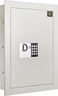 7700 Flat Electronic Wall Safe .83 CF for Large Jewelry Security-Paragon Lock & Safe (Renewed)