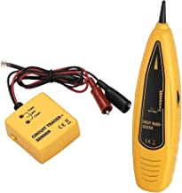 Wire Tracer & Circuit Tester with RJ-11 Plug and Alligator Clips (Tone and Probe Kit) by PTE