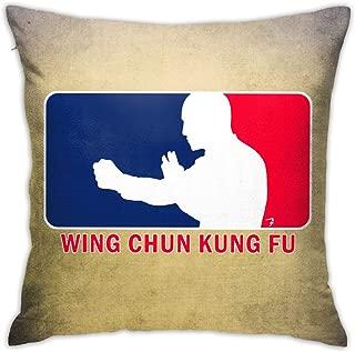 Grance-Ra Wing Chun Kung Fu League Velvet Pillowcase