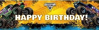 Monster Jam Party Supplies Decoration Vinyl Birthday Banner 18