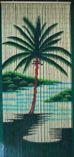 Single Palm Tree Beaded Curtain 125 Strands (+hanging hardware)