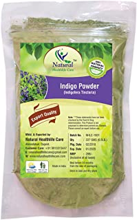 Natural Healthlife Care Natural Indigo Powder (Indigofera Tinctoria) 227Gm