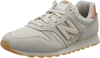 New Balance 373 Womens Beige/Rose Gold Trainers