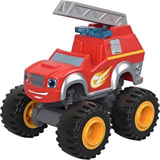 Fisher-Price Nickelodeon Blaze and The Monster Machines Fire Rescue Blaze Toy, Red