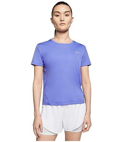 Nike Miler Top Short Sleeve (Sapphire/Sapphire/Reflective Silver) Women