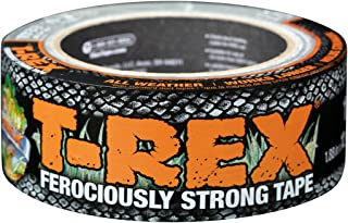 T-REX Ferociously Strong Tape, Duct Tape with UV Resistant & Waterproof Backing for Wood Brick Concrete and More, 12 yd. x...