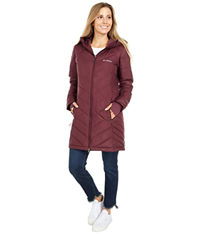Columbia Heavenly Long Hooded Jacket (Seminole) Women