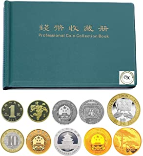 Collection House 240 Pockets Coin Collection for beginers Album Book for Collectors Green