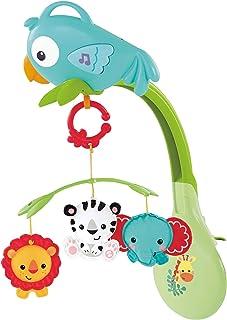 Fisher-Price Móvil Musical 3 en 1 Amigos Juguete para bebés de 0 a 36 meses