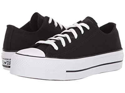 Converse Chuck Taylor All Star Lift Renew (Black/White/Black) Women