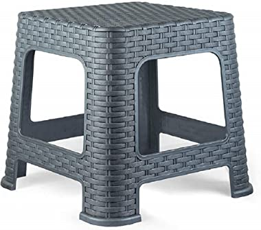 Dharmik Enterprise Multipurpose Stool for Sitting Bathroom/Office/Kitchen,Plastic Stool for Living Room/Bathing Stool/Stool C