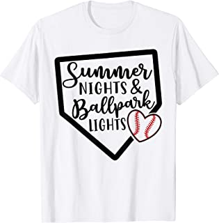 summer nights and ballpark lights