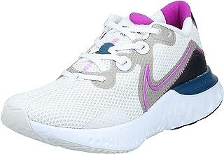 Nike Renew Run, Women's Road Running Shoes, Multicolour (Platinum Tint/Vivid Purple-White-Black)