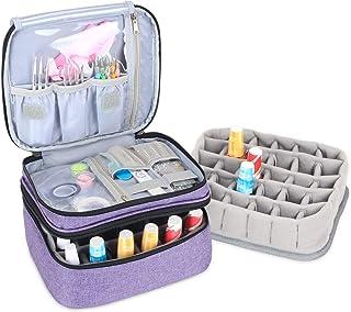 Luxja organizador de esmaltes de uñas, esmaltes de uñas