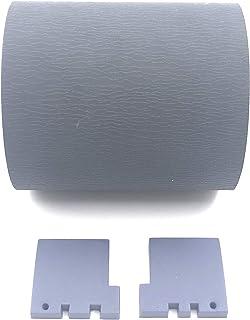 OKLILI PA03586-0001 PA03586-0002 ピックローラータイヤ,ピックアップローラータイヤ, 紙送りローラータイヤ + 分離パッドゴム Compatible with Fujitsu 富士通と互換性がある S1500 S...