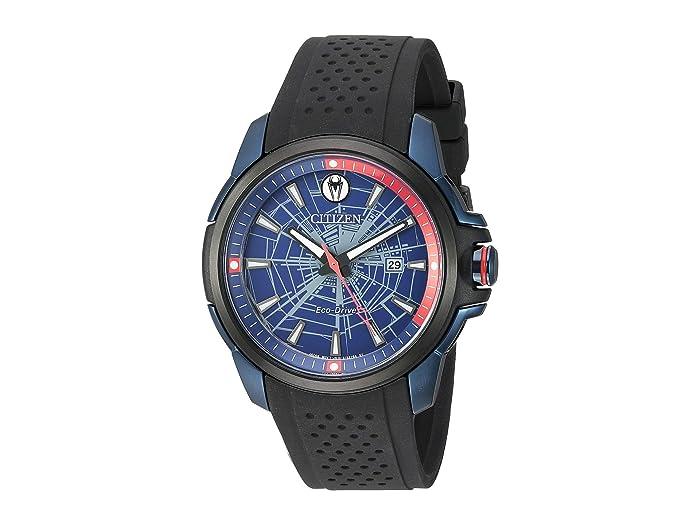 Citizen Watches  Spider-Man AW1156-01W (Black) Watches