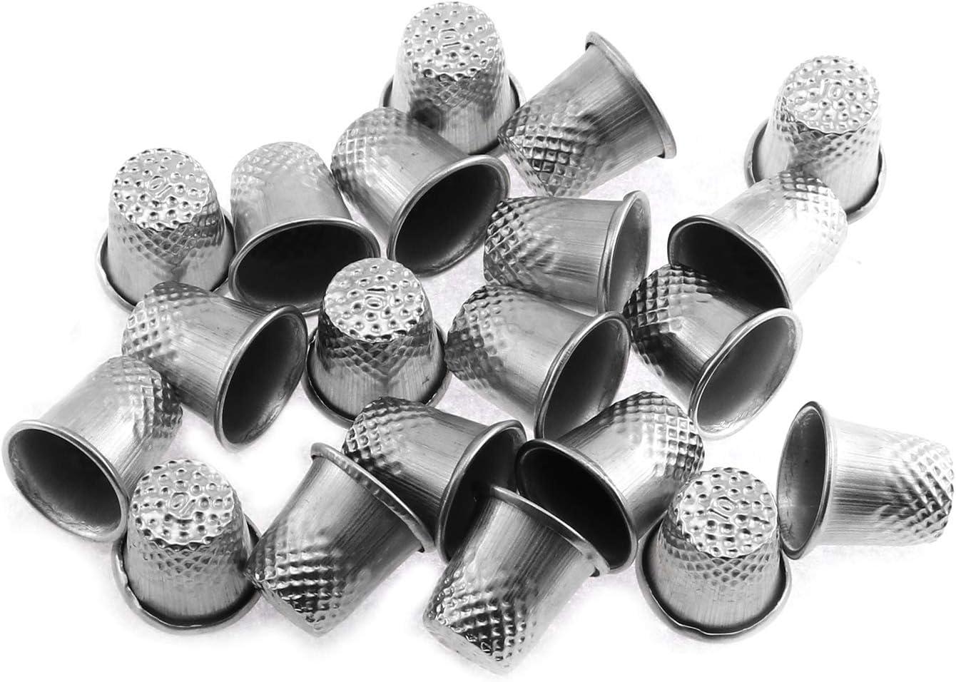 Maxmoral 20pcs Sewing Thimbles Quilting Thimbles Finger Protecto