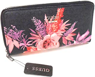 Guess Womens Ashville Zip-Around Wallet