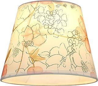 Eastlion Abat-jour simple et moderne en PVC pour lampe de table, lampe murale, lampe de chevet, lampe de sol avec support ...