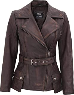 Real Leather Jackets for Women - Lambskin Womens Leather Jacket