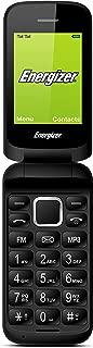 Energizer Energy E20 Flip Phone, 32 MB RAM, Dual Mini SIM - Black