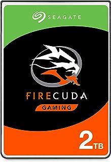 Seagate FireCuda, 2TB, Disco duro interno híbrido, SSHD de alto rendimiento, 2,5 in, SATA, 6 Gb/s, aceleración mediante flash, caché de 8 GB para videojuegos, PC y portátiles (ST2000LX001)