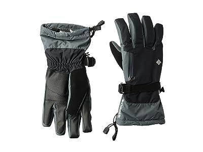 Columbia Bugabootm Interchange Gloves (Black/Graphite) Snowboard Gloves