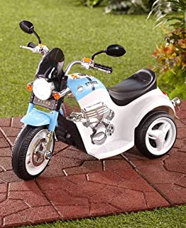 The Lakeside Collection 6-Volt Ride On Electric Police Motorcycle for Boys and Girls
