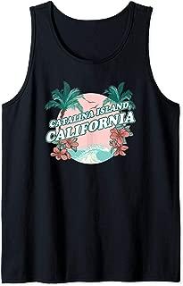 Catalina Island, California - California Tourist Tank Top