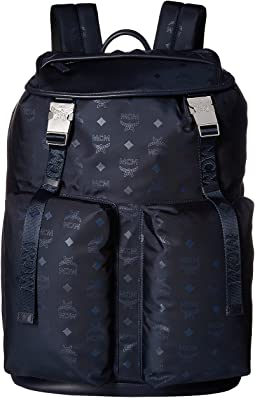 Dieter Monogrammed Nylon Backpack