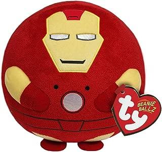 Ty Beanie Ballz Iron Man Plush, Regular
