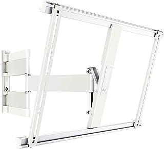 Vogels THIN 545 Blanco, Soporte de Pared para TV 40 - 65 Pulgadas, Inclinable y Giratorio 180º, Máx 25 kg y con sistema VE...