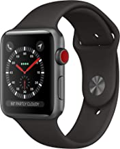 Apple Watch Series 3 (Gps + Cellular, 42mm) - Space Gray Aluminum Case with Black sport Band
