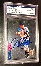 Derek Jeter Signed 1993 Sp Rookie Card New York Yankees Gem Mint 10 Auto - PSA/DNA Certified
