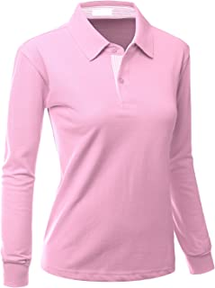 t shirt with collar womens