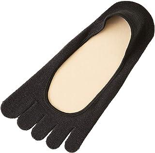 [靴下屋]クツシタヤ 消臭?速乾5本指カバーソックス24~26cm 日本製 大きいサイズ