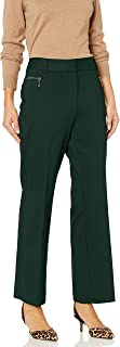 Women's Straight Leg Zipper Pocket Pant