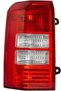 Taillight Tail Lamp Lens Driver Replacement for 08-16 Jeep Patriot SUV 5160365AE