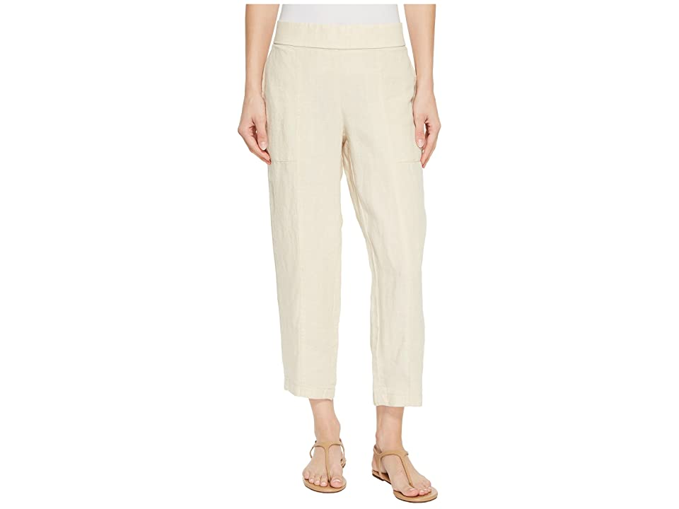 Eileen Fisher Ankle Pants (Undyed Natural) Women
