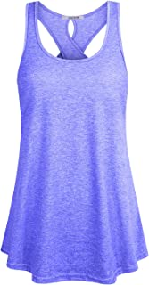 ZKHOECR Womens Round Neck Short Sleeve Yoga Top Activewear Sport Running T Shirt