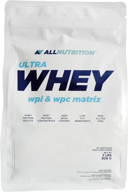 ALLNUTRITION Ultra Whey WPI y WPC 1 Paquete de 908 g Polvo de ...